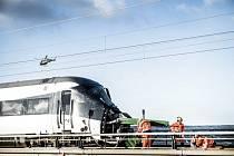 Nehoda osobního vlaku v Dánsku