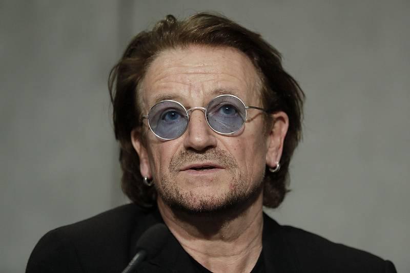 Frontman kapely U2 Bono Vox