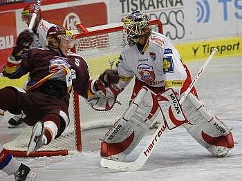Roman Turek se představil v utkání se Spartou.