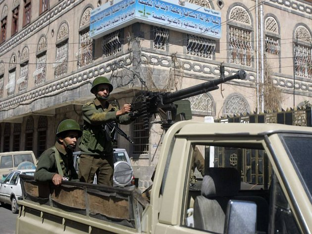 Jemenské město Saná je obsazeno policejními silami