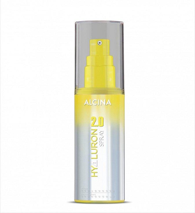Ochranný sprej na vlasy Hyaluron 2.0 sprej, Alcina, 340 Kč