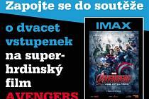 Zapojte se s námi do soutěže o 20 vstupenek na super-hrdinský film.