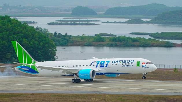 Bamboo Airways. Ilustrační snímek