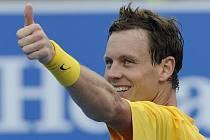Tomáš Berdych se na Australian Open raduje z postupu.