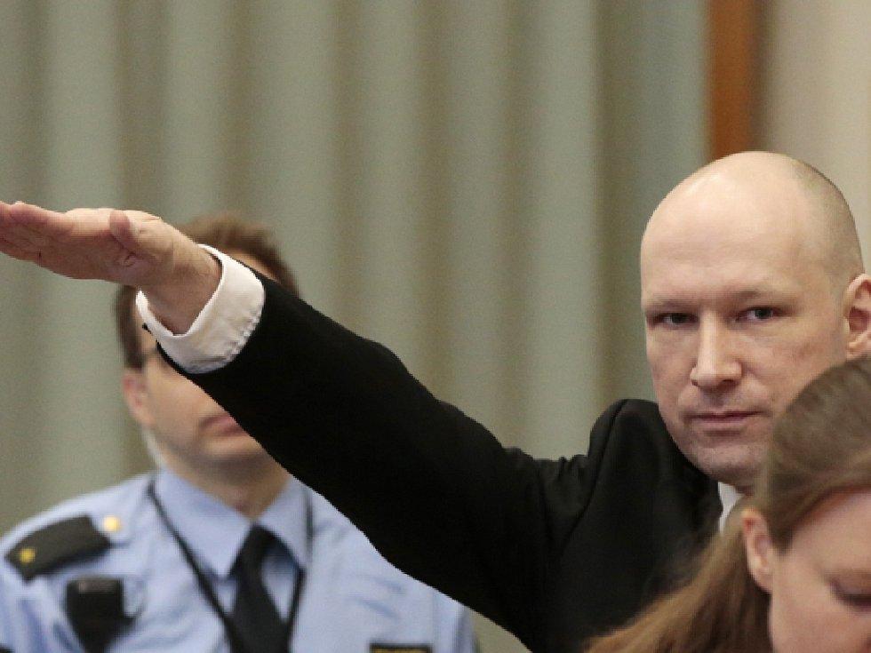 Extrémista a vrah Anders Breivik.
