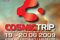 Dvoudenní festival Cosmic Trip se bude konat na letišti v Ústí nad Labem