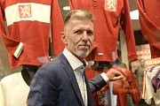 Trenér fotbalové reprezentace Jaroslav Šilhavý.