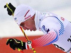 Lukáš Bauer v závodu SP v Novém Městě na Moravě.