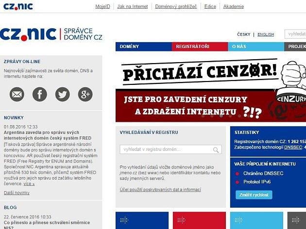 www.nic.cz