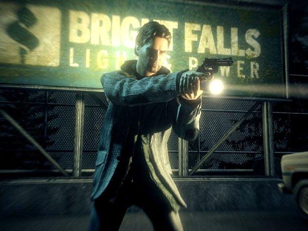 Počítačová hra Alan Wake.
