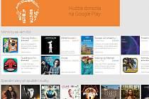 Google spustil v Česku stahování hudby přes Google Play.