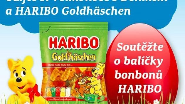 Užijte si Velikonoce sDeníkem a HARIBO Goldhäschen