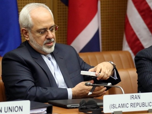 Íránský ministr zahraničí Džavád Zaríf.