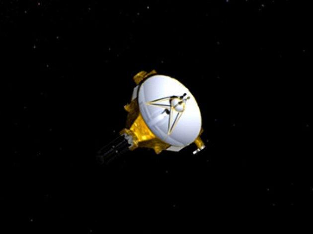 Umělecké vyobrazení sondy New Horizons.