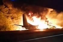 Nehoda ukrajinského vojenského letounu