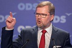 Petr Fiala byl na kongresu ODS zvolen staronovým předsedou.