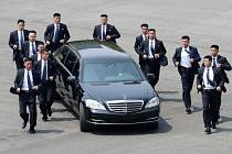 Ochranka severokorejského diktátora Kim Čong-una