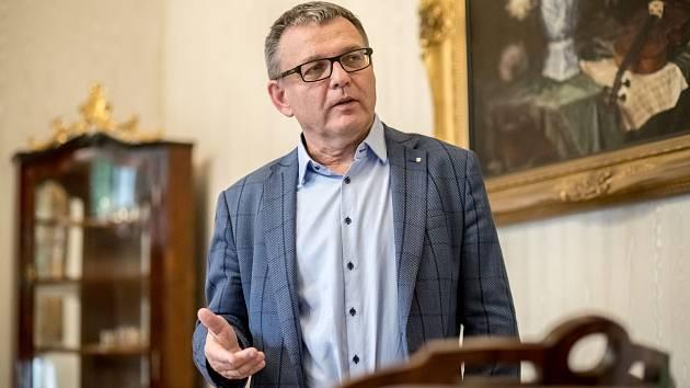 Ministr kultury Lubomír Zaorálek