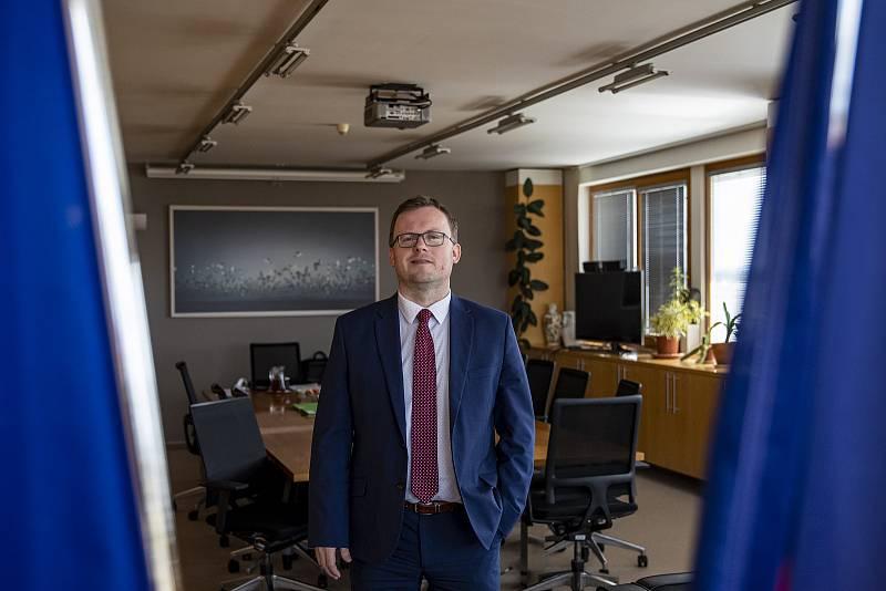 Předseda Českého statistického úřadu (ČSÚ) Marek Rojíček
