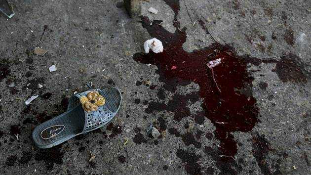 Násilí, terorismus, krev - ilustrační foto.