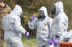 Protichemické jednotky v Salisbury