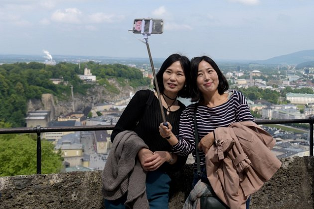 Selfie si pořizují lidé po celém světě. Ilustrační foto.