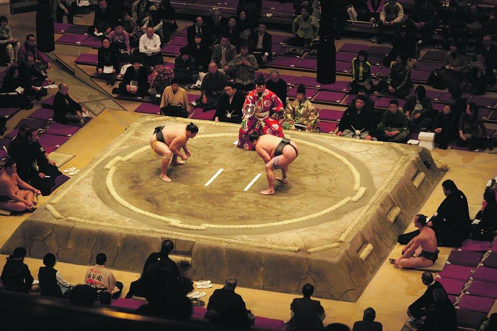 Sumo je tradiční japonský sport