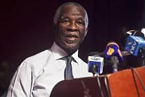 Vedoucí vyjednávač, bývalý jihoafrický prezident Thabo Mbeki.