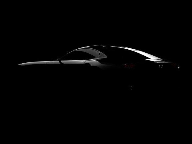Mazda na autosalonu v Tokiu představí studii sportovního vozu.