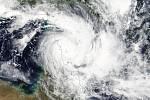 Cyklon Trevor nad Austrálií.