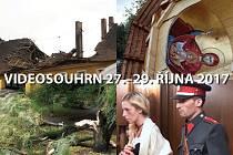Videosouhrn Deníku – víkend 27.–29. října 2017