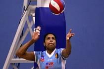 Kapitánka volejbalistek Prostějova Solange Soaresová.