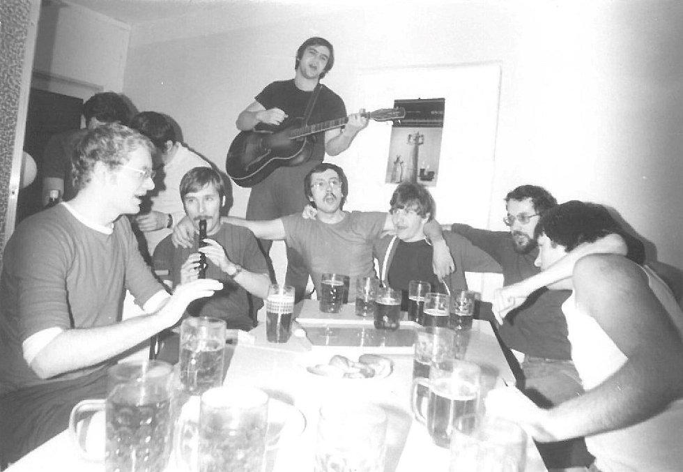 5. ročník studia v roce 1979, Lékařská fakulta UK Hradec Králové