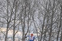 Smíšená štafeta na MS v biatlonu: Gabriela Soukalová osamocená na trati