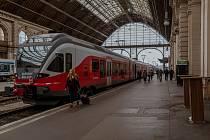 Nádraží Keleti v Budapešti. Ilustrační snímek