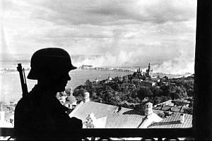 Německý voják v kyjevské citadele