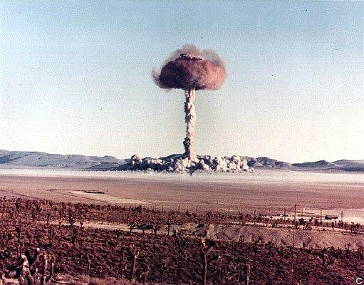 Cvičný malý jaderný výbuch provedený v rámci operace Buster-Jangle