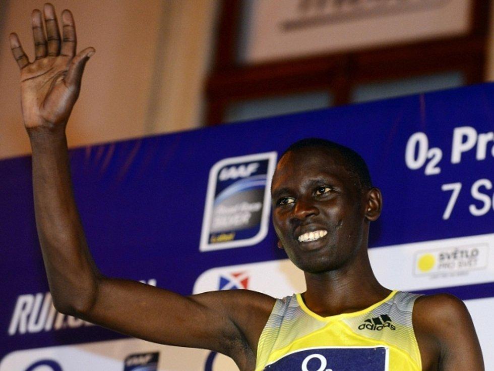 Keňan Daniel Chebii vyhrál v Praze běžeckou Grand Prix na 10 kilometrů.