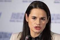 Běloruská opoziční kandidátka Svjatlana Cichanouská