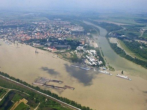 Dunaj v Komárně