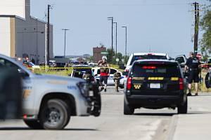 Policisté na místě střeleckého útoku ve městě Odessa na západě Texasu ve Spojených státech