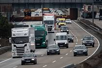 Německá dálnice A3. Ilustrační snímek