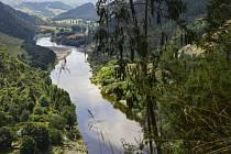 Řeka Whanganui na Novém Zélandu