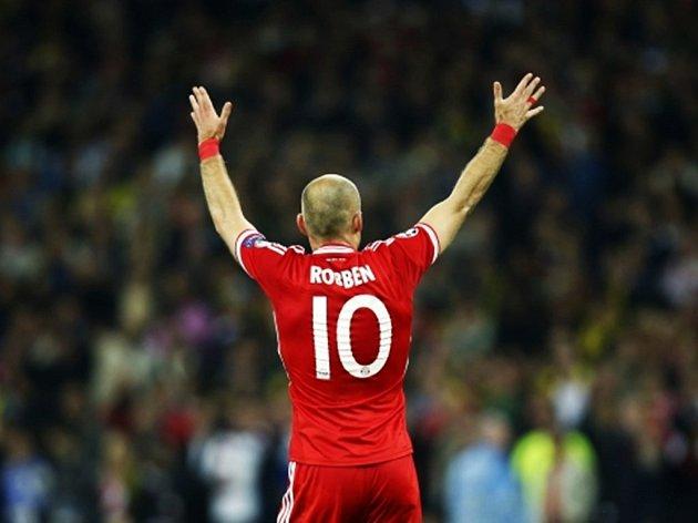 Hrdina letošního finále Ligy mistrů Arjen Robben.