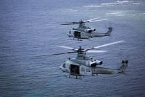 Vrtulníky UH-1Y.