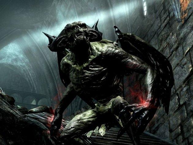 Počítačová hra Elder Scrolls V: Skyrim - Dawnguard DLC.