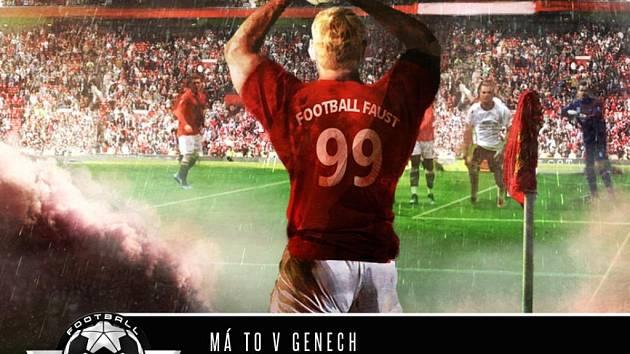 Interaktivní kniha Football Faust jako aplikace pro iPad.