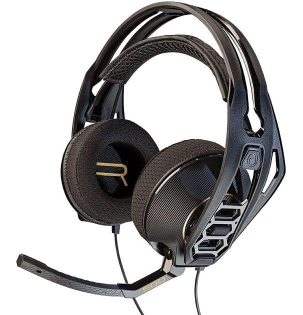 Herní sluchátka Plantronics RIG 500HD.