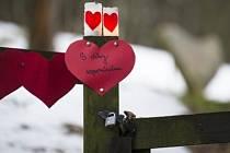 Bývalého prezidenta Václava Havla, který před dvěma lety zemřel na Hrádečku u Trutnova, u jeho chalupy 18. prosince připomínaly zapálené svíčky a papírová srdce. Během dopoledne svíčky na místě zapálilo několik lidí.