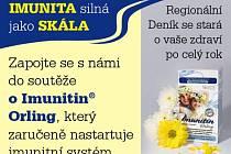 Zapojte se s námi do soutěže o Imunitin® Orling, který zaručeně nastartuje před zimou imunitní systém.